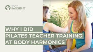 Por que eu fiz a formação de Pilates na Body Harmonics?