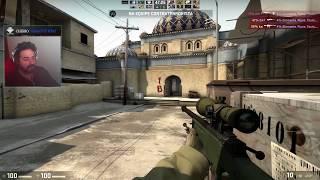 Nesse vídeo tentei brincar um pouco de CS-Go mas, meus adversários era um pouco bom kkkkkkkkkkk...aos poucos vou...