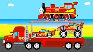 McQueen Mack Truck transportationPrevious fun videos:Sport cars for childrenhttps://youtu.be/jQqcqnpDezECOLOR HELICOPTERhttps://youtu.be/zoSpZ6EowlYColor offroad carshttps://youtu.be/sejTgaMz0LINumbers and monster truckhttps://youtu.be/I_m8XQtqmswLearn numbers with offroadhttps://youtu.be/V4mAKYvaLvABus and carshttps://youtu.be/HjsNUXv-VFE