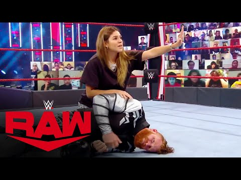Aalyah Mysterio pleads with Seth Rollins to spare Murphy: Raw, Oct. 5, 2020