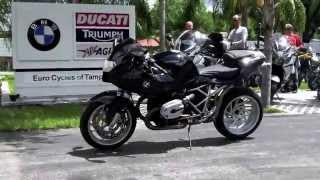 3. 2007 BMW R1200S Black at Euro Cycles of Tampa Bay