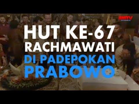 HUT Ke-67 Rachma di Padepokan Prabowo