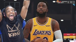 NBA 2K19 MyCareer My First Game As A Laker with LeBron James & Lonzo Ball Ep.3