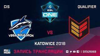 Vega Squadron vs Effect, ESL One Katowice CIS, game 3 [Maelstorm, GodHunt]