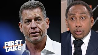 Troy Aikman isn't petty for responding to Patrick Mahomes comparisons – Stephen A.   First Take