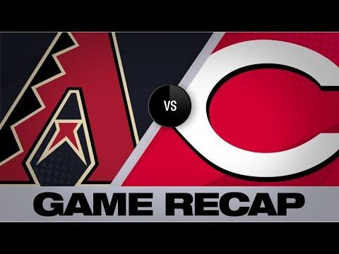 Video: Lorenzen's walk-off lifts Reds to 4-3 win | D-backs-Reds Game Highlights 9/8/19
