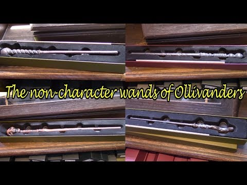 The Non-character Wands Of Ollivanders