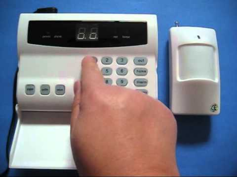 ES10C wireless home & business security burglar alarm system