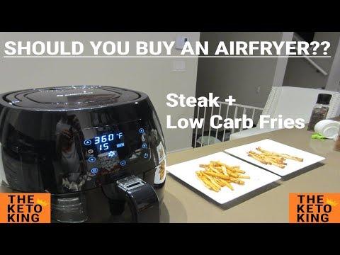 Low carb diet - Low Carb Fries in Air Fryer  Meat in Air Fryer  Should I Buy Air Fryer  What is Airfryer