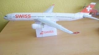 Video Swiss A330 300 Papercraft MP3, 3GP, MP4, WEBM, AVI, FLV Juni 2018