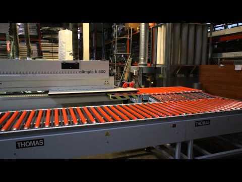 Thomas Edgebander Return Conveyor - Thick Large Panels