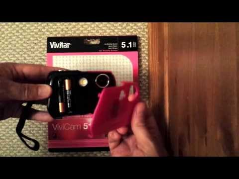 Changing batteries in a Vivitar 5119 camera