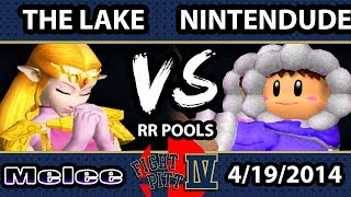 Had me on the edge of my seat until the very end: The Lake (Zelda!) Vs. Nintendude (Ice Climbers)