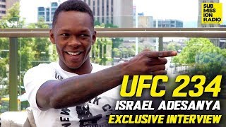 Israel Adesanya Gets Deep About Anderson Silva Fight, Robert Whittaker, His Gym | UFC 234