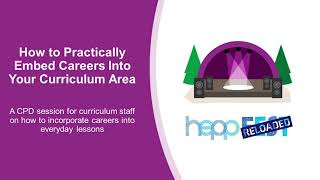 How to Practically Embed Careers Into Your Curriculum Area