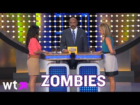 feud - Family Feud is just flat out ridiculous. Black Zombies for $200. Wrong game? Oh. Naked Grandma. DING DING! Subscribe for more videos: http://full.sc/NfhdwD F...