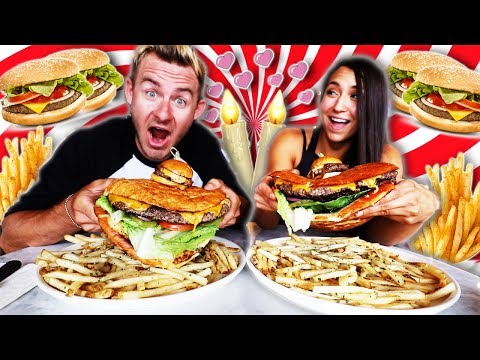 THE ULTIMATE FOOD CHALLENGE DATE!  15,000 CALORIES