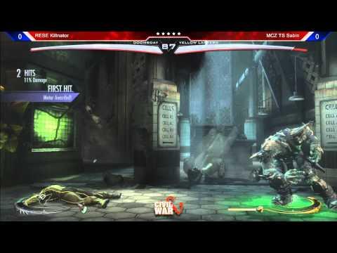 Injustice @ Civil War 5: Killnator (Doomsday) vs TS Sabin (Green Lantern)