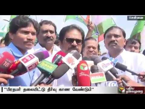 PM-Modi-should-intervene-to-solve-Cauvery-issue-Thirunavukkarasar