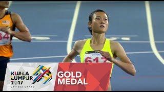 Video Athletics Women's 100m Finals | 29th SEA Games 2017 MP3, 3GP, MP4, WEBM, AVI, FLV Agustus 2017