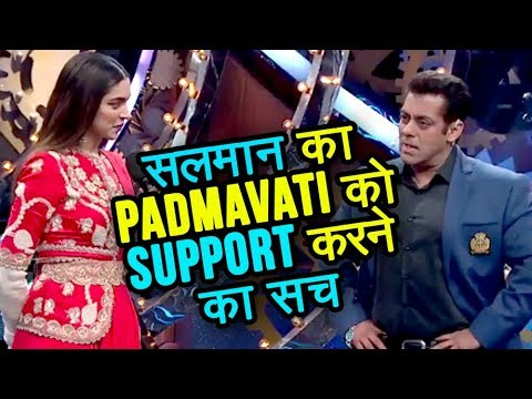 TRUTH Behind Salman Khan Promoting Padmavati With