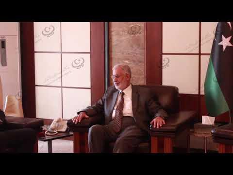 وزير الخارجية الليبي يستقبل السفير الإيطالي المعتمد لدى ليبيا