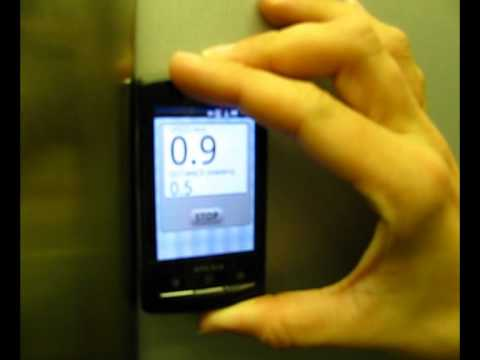 Video of Elevator Speed
