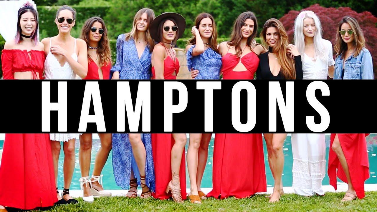 THE HAMPTONS BLOGGER LOOKBOOK #Revolveinthehamptons