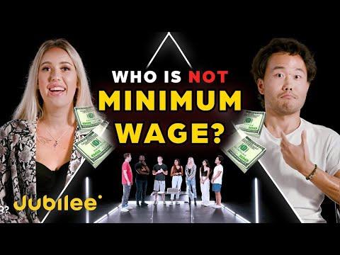 6 Minimum Wage Workers vs 1 Secret Millionaire   Odd Man Out