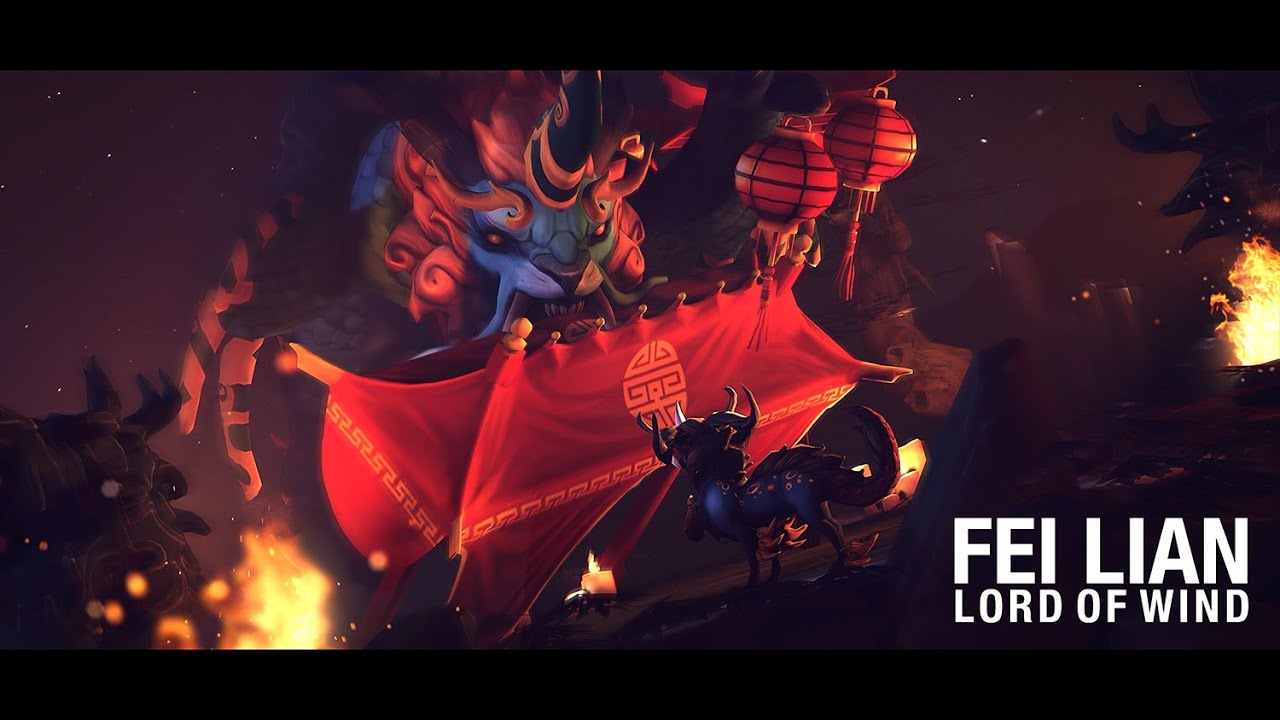 Dota 2 – 'Fei Lian' – Lord of Wind Courier