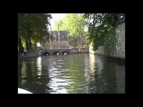 A canal boat trip around Brugge