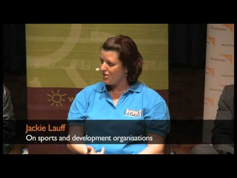 Jackie Lauff on sports and development organisations