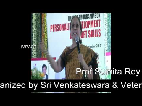 How English Communication is important by Prof Sumita Roy at Tirupati IMPACT