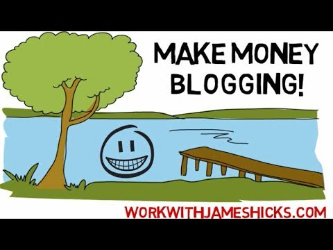 Make Money Blogging Online From Home