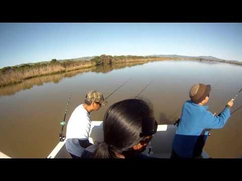 Bend Ur Rod. Fishing at Suisun Slough