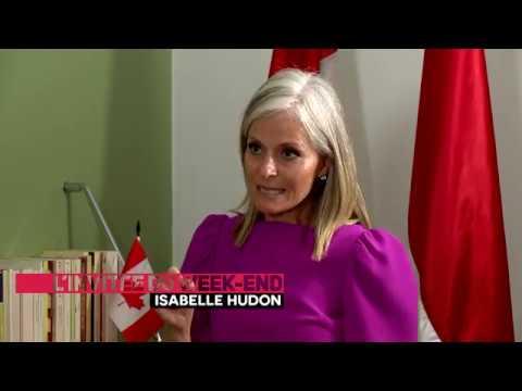 L'invitée du week-end : Isabelle Hudon