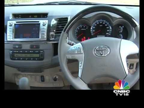 2012 Toyota Innova & Fortuner first drive