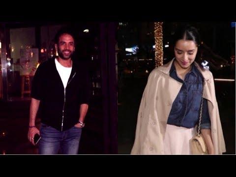 Shraddha Kapoor & Tusshar Kapoor Spotted At Yauatcha Mumbai