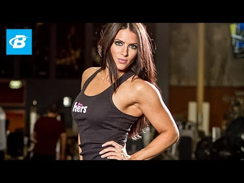 Amanda Latona's Shoulder Workout – Bodybuilding.com