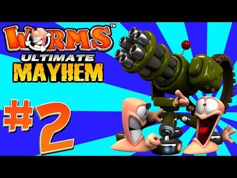 [2] Wild West Showdown! (Worms: Ultimate Mayhem) (видео)