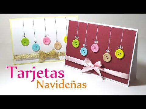 Navidad manualidades tarjetas videos videos - Tarjeta navidad manualidades ...
