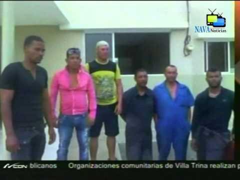 Seis hombres de nacionalidad Cubana detenidos en Montecristi por entrar al país de forma ilegal