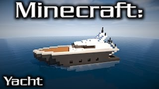 Minecraft: Medium Yacht Tutorial 3