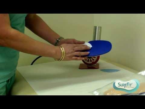 SureFit Video Series: Heat Molding Prefab Diabetic Inserts/Insoles