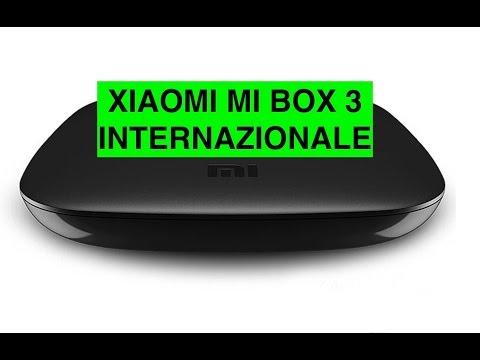 Recensione Xiaomi Mi Box 3 Internazionale, TV Box Android economico