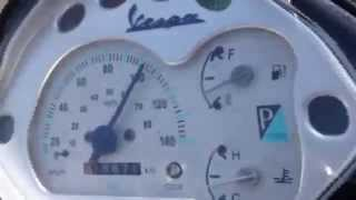 8. Piaggio Vespa GT 125 15 HP, 0-100 Acceleration + Top Speed