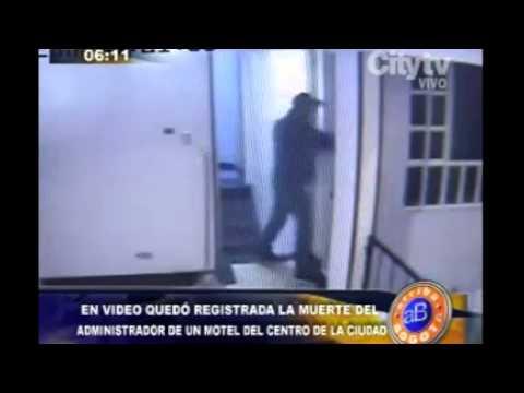 moteles en bogota - Emisión: 11 de julio de 2014. En video quedó registrada la muerte de administrador de motel.