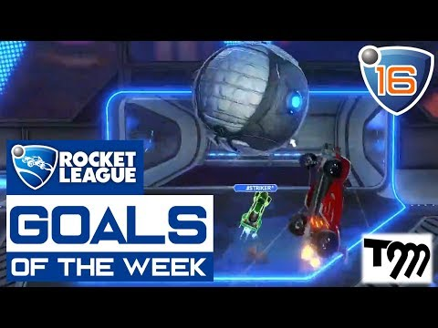 Rocket League - TOP 10 GOALS OF THE WEEK #16 (видео)