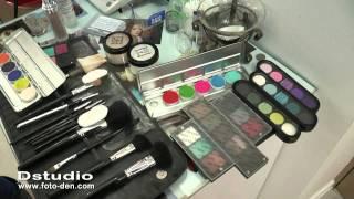 свадебный образ прическа и макияж