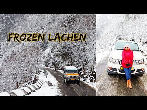 Lachen sikkim Travel Guide | Gangtok To Lachen road trip| Lachen Snowfall | Lachen In Winter